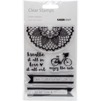 """Picture of Kaisercraft Clear Stamps 6""""X4"""" - Finder's Keepers"""