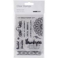 """Picture of Kaisercraft Clear Stamps 6""""X4"""" - Bombay Sunset"""