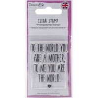 Picture of Dovecraft Clear Stamp - Mother