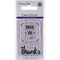 Εικόνα του Dovecraft Clear Stamp - Thank You