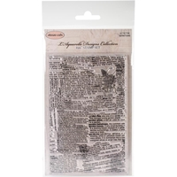 "Εικόνα του Ultimate Crafts L'Aquarelle Background Stamp 4""X6"" - Definitions"