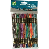 Εικόνα του Embroidery Thread Pack - Set of 24