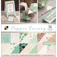 """Picture of DCWV Double-Sided Paper Stack 12""""X12""""  - Copper Luxury"""