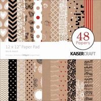 "Picture of Kaisercraft Paper Pad 12""X12""  - Mix & Match"