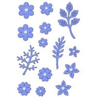 Εικόνα του Μήτρες Κοπής Sweet Dixie Dies - Delicate Blossoms