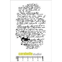 Εικόνα του Cling Stamp A7 - Σφραγίδα - Background écriture