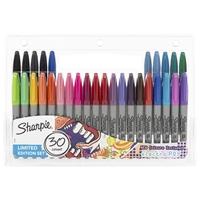 Εικόνα του Sharpie Fine Point Permanent Markers - Μαρκαδόροι Σετ 30 τεμ - Electro Pop