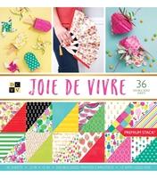 """Εικόνα του DCWV Double-Sided Paper Stack 12""""X12""""  - Joie De Vivre"""