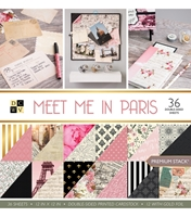 """Picture of DCWV Double-Sided Paper Stack 12""""X12""""  - Meet Me In Paris"""