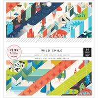 Picture of Pink Paislee Single-Sided Paper Pad 6''X6'' - Wild Child Boy