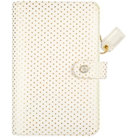 Picture of Webster's Pages - Color Crush Personal Planner Kit - Gold Polka Dots