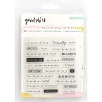 Εικόνα του Good Vibes Clear Stamps - Σφραγίδες