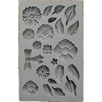Picture of Iron Orchid Designs Vintage Art Decor Mould - Rustic Fleur