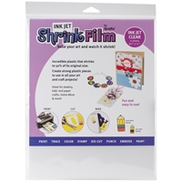 "Εικόνα του Ink Jet Shrink Film 8.5""X11"" - Clear"