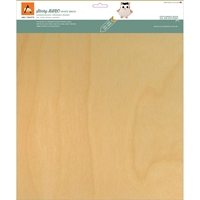 Picture of BARC Wood Sheet W/Adhesive Backing - White Birch