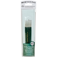 Εικόνα του Royal & Langnickel Value Pack Brush Sets - Tacklon Detail