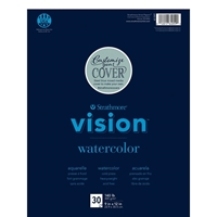 """Picture of Strathmore Vision Watercolor Pad 9""""X12"""""""