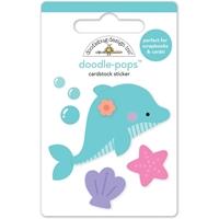 Εικόνα του Doodlebug Doodle-Pops 3D Stickers - Daisy Dolphin