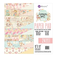 "Picture of Prima Marketing Double-Sided Paper Pad 12""X12"" - Heaven Sent 2"