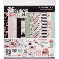 """Picture of Photo Play Collection Pack 12""""X12"""" - Vintage Girl"""