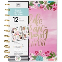 Picture of Happy Memory Keeping Undated 12-Month Big Planner - Life Is An Amazing Adventure