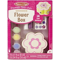Picture of Decorate Your Own Wooden Chest - Flower