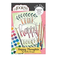"Εικόνα του ArtPlay Watercolor Paper Mini Coloring Book 4""X6"" - So Cute!"
