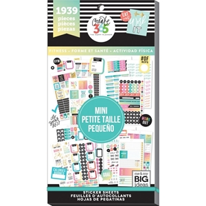 Picture of Create 365 Happy Planner Sticker Value Pack - Work it Out Mini