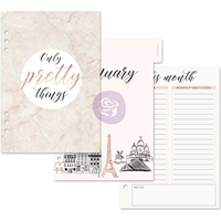 Picture of My Prima A5 Planner Inserts - Frank Garcia Mademoiselle Chic