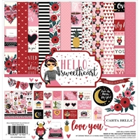 """Picture of Carta Bella Collection Kit 12""""X12"""" - Hello Sweetheart"""