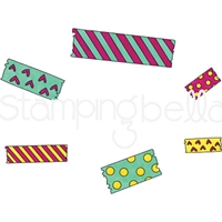 Εικόνα του Stamping Bella Cling Stamps - Washi Tape Set 1