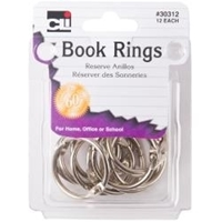 Picture of Book Rings 1''