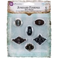 Εικόνα του Μεταλλικα Διακοσμητικα Junkyard Findings - Key Holes