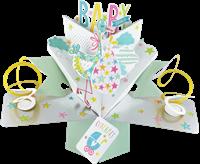 Εικόνα του Ευχετήριες Κάρτες Pop Ups - Baby Shower (Stork)