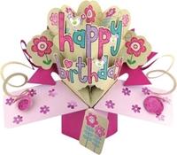 Εικόνα του Ευχετήριες Κάρτες Pop Ups - Happy Birthday