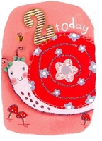 Picture of Eye Spy Greeting Cards - Age 2 Snail