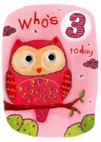 Picture of Eye Spy Greeting Cards - Age 3 Owl