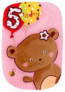 Picture of Ευχετήριες Κάρτες Eye Spy - Age 5 Bear