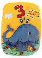 Picture of Eye Spy Greeting Cards - Age 3 Whale