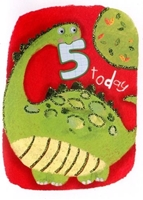Picture of Eye Spy Greeting Cards - Age 5 Dinosaur