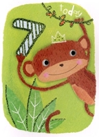 Picture of Eye Spy Greeting Cards - Age 7 Monkey