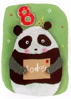 Picture of Eye Spy Greeting Cards - Age 8 Panda