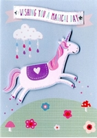 Picture of Yours Truly Greeting Cards - Unicorn