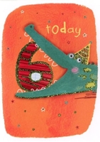 Picture of Eye Spy Greeting Cards - Age 6 Crocodile