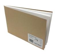 Picture of Artway Softback Sketchbook A4 Landscape - White