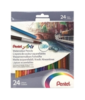 Εικόνα του Pentel Watercolor Pencil Set of 24