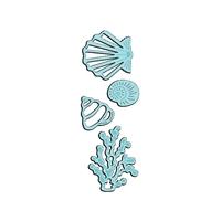 Εικόνα του Μήτρες Κοπής Sweet Dixie Mini Dies - Seashells & Seaweed