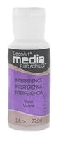 Εικόνα του Ακρυλικά DecoArt Media Fluid Acrylics - Interference Violet