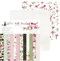 Picture of Hello Beautiful Collection Pad 12''X12''