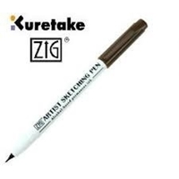 Picture of Kuretake Zig Artist Sketching Pen - Sepia